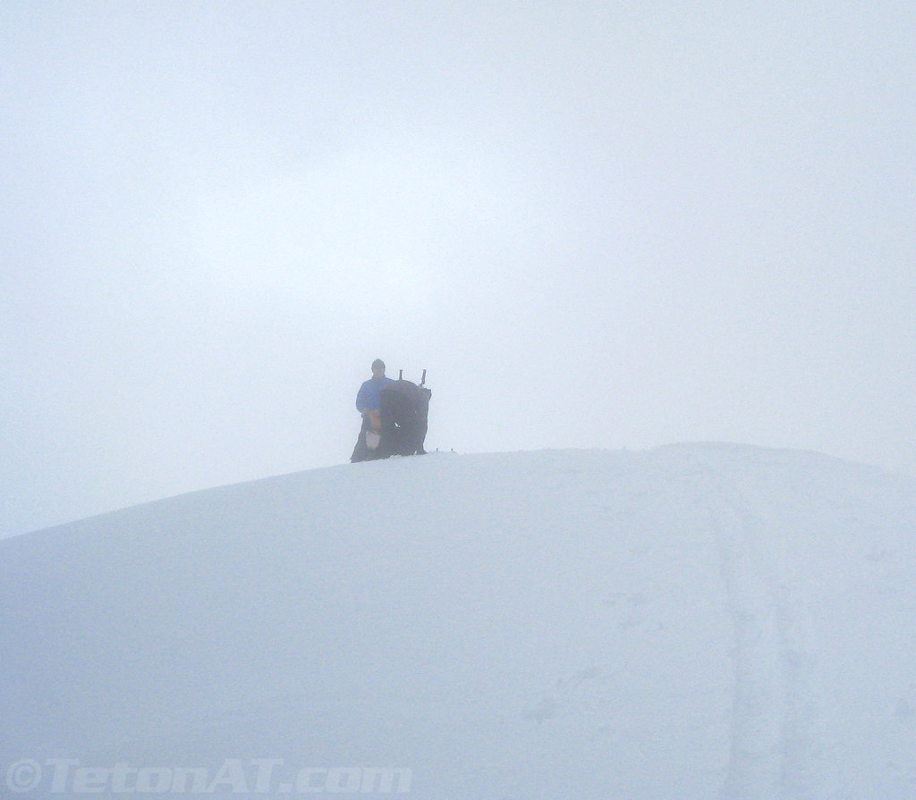 tough visibility arriving at the summit