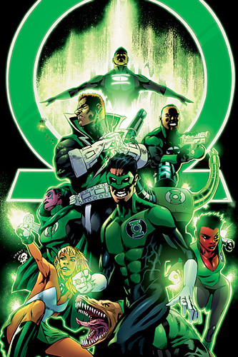 Green Lantern Corps The Strong Team