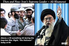 Iran's Ali Khamenei (anemi) Tags: war iran iraq middleeast khamenei