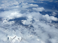 View from Airplane 10 (kitsune_rei) Tags: mountains alaska clouds arial