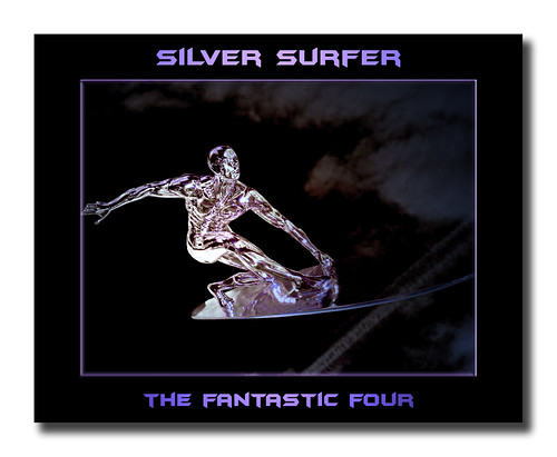 Post Processing Challenge # 4 - Fantastic Four ~ Raising of the Silver Surfer