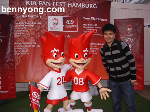 The Mascots of Euro 2008