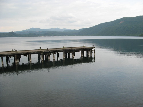 Pier in Lake Towada