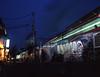Nakano at dusk (F_blue) Tags: tokyo 645 nakano fujichrome provia100f 中野 etrs rdpiii zenzabronica zenzanonpe5028 fblue2008