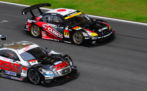 Overtaking maneuvers, Super GT, Sepang, 2008