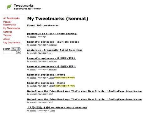 Tweetmarks