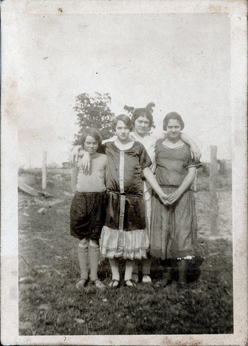 Four young girls