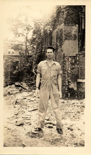 My Grandaddy Alan, Europe, WWII