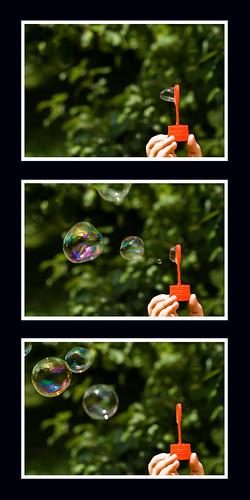 Seifenblasen-Sequenz