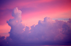 Because It's Pretty... (cobalt123) Tags: pink blue arizona clouds catchycolors colorful pretty purple tucson pastel likemaxfieldparrish onlycontrastbumped
