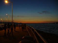 Late Sunset at Alki