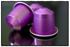 MacroMondays - The color Purple - coffee (h-j.nu) Tags: reflection home coffee purple pentax  sigma 24mm frederiksberg nespresso thecolorpurple frb allrightsreserved k10d pentaxk10d langelandsvej macromondays pentaxk10dsamsunggx10 henrikfrb henrikbstudio