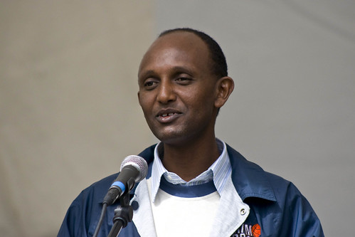 Activist Daniel Bekele