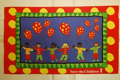 Save the Children UK 004 (emmajay2008) Tags: vintage tea towels screened