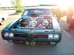 1969 Supercharged Pontiac GTO (blondygirl) Tags: 1969 car autoshow 427 stalbert pontiac gto carshow musclecar supercharged pontiacgto rocknaugust 1969gto stalbertcruisers rocknaugustcarshow 1000ormoreviews stalbertcruiserscarclub supercharged427