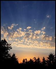 Ray [NOT HDR] (.Carter.) Tags: seattle sunset sky cloud sun set canon rebel washington wa sunrays xti mywinners abigfave canonrebelxti platinumphoto impressedbeauty goldstaraward