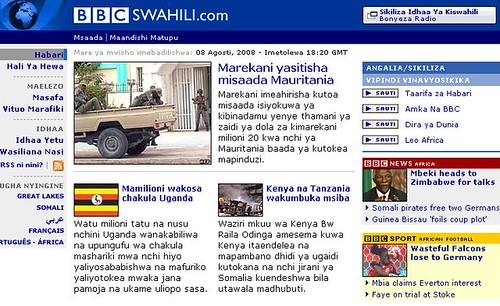 Learn Swahili - Swahili BBC
