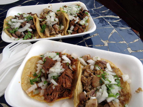 Tacos at Tacos el Paisa