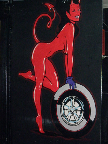 devil woman at down to earth tattoos