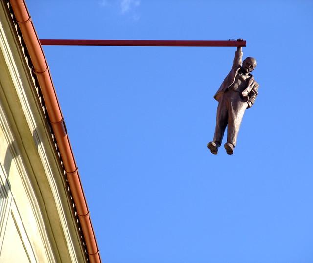 David Černý hanging man