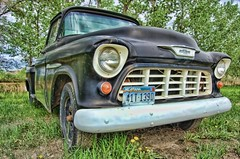 Abandoned (S C W) Tags: old west classic truck antique pickup chevy utata americana chevorolet