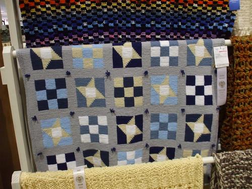 Patchwork quilt afghan