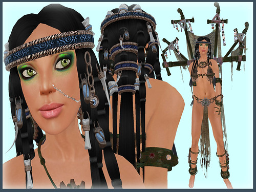 Shaman Dark Eden Tekili-li Hair LionSKins