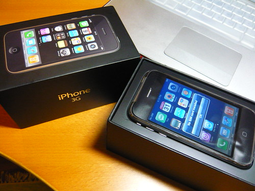 iPhone and box
