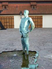 Proudy (aka the 'Piss' Sculpture) by David ern, Prague (Rick & Mindy) Tags: holiday republic czech prague praha praga scuplture piss pissing 2008 davidcerny proudy