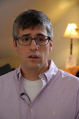 cbs sunday morning interview 023b (sweetie pie press) Tags: television sundaymorning interview ugliness cbs morocca unflatteringportraits reverendaitor