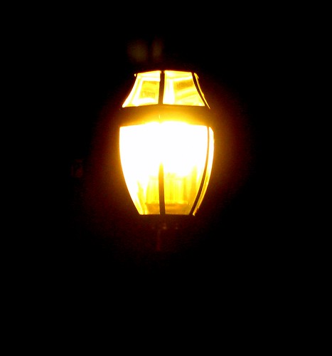 lampost at night