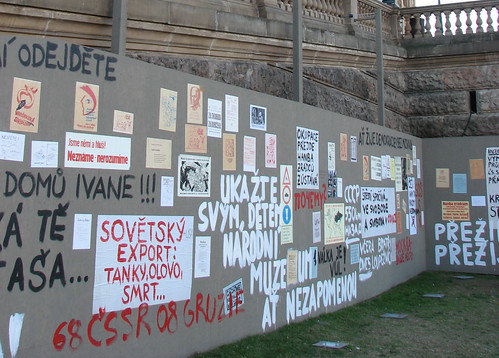 Anti-communist display, Prague