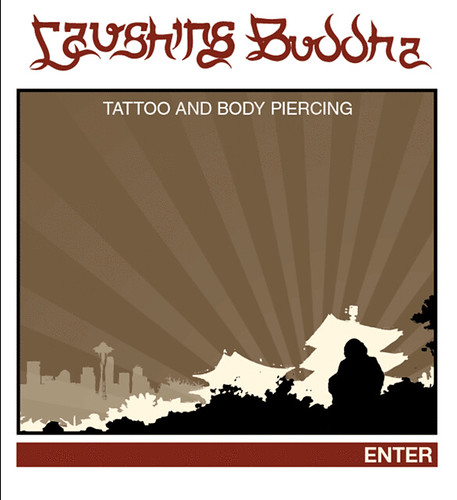 time at Laughing Buddha Tattoo