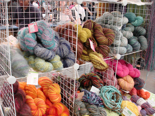 Yarn from Mary Jane's Attic at Bazaar Bizarre
