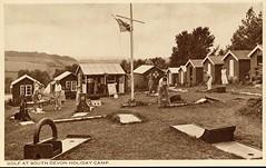 South Devon Holiday Camp (pre Pontins) (trainsandstuff) Tags: vintage postcard retro devon archival paignton pontins holidaycamp southdevon holidaycamps southdevonholidaycamp