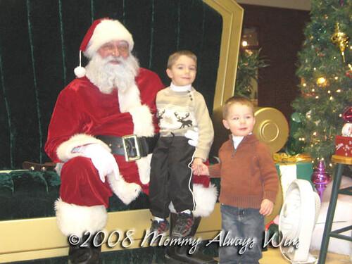 Boys & Santa, 2008