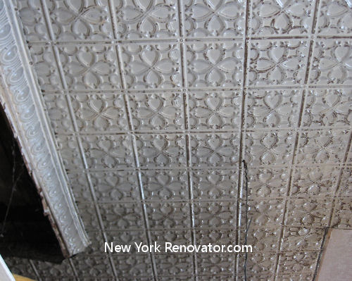 Old Tin Ceiling