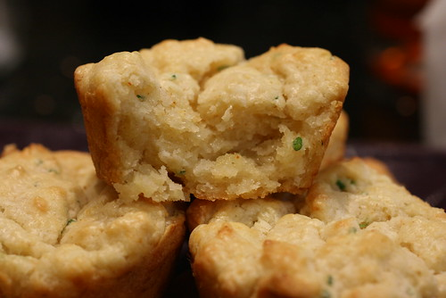 inside Cheddar & Chive Biscuit