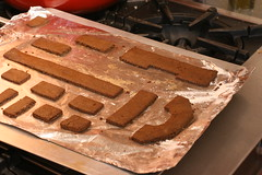 baked gingerbread cut-outs