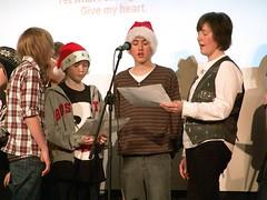 DSC01976 (Sunderlandpix) Tags: christmas school st for woods support december catholic williams mr aidans sierra f sing miss 2008 fundraising leone payne 17th josephs chri blama sunderlandpix