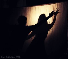 shadow dance (Stuti ~) Tags: boy shadow india college girl festival canon dance event kc mumbai blitzkrieg 400d challengeyouwinner thechallengefactory
