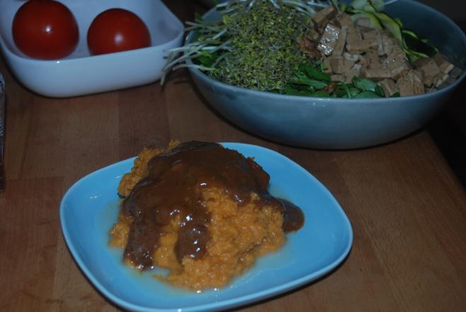 miso gravy raw
