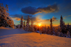 Above The Storm On Mount Rainier (kevin mcneal) Tags: winter snow mountains nature landscape nationalpark bravo seasons mountrainier washingtonstate