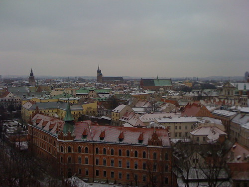 Krakow view from Wawel