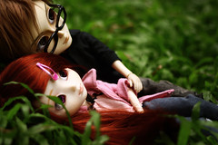 Mir and Paige (cgines) Tags: park grass philippines pullip makati lead mymelody taeyang washingtonsycippark