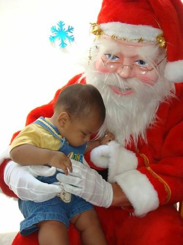 Santa Claus visit...