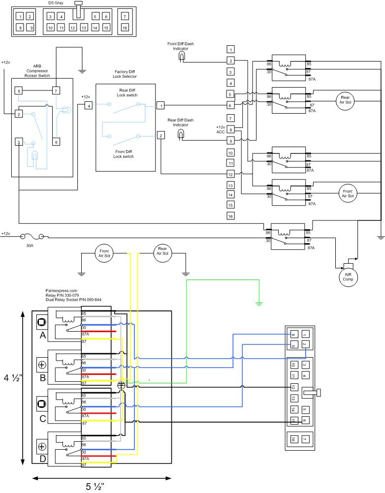 3152629009_11685c58aa_o arb air locker factory switch integration ih8mud forum hzj105 wiring diagram at gsmportal.co