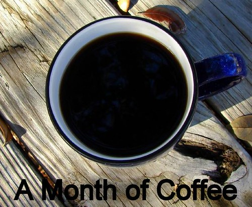 A month of coffee