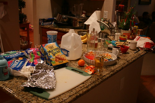 New Years Mess.
