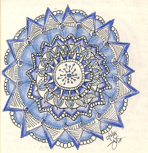 Ink & Pencil Mandala